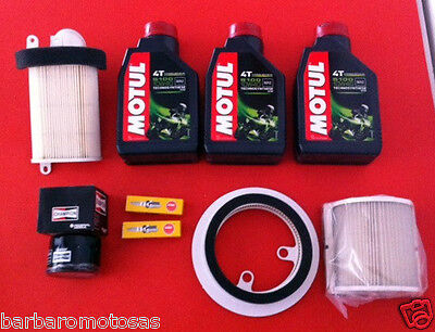 Replacement Kit Yamaha T Max T-Max 500 01-07 Oil + 2 Spark Plugs + 4 Filters