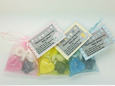 ELEPHANT Favours - Baby Shower - Girl Boy Unisex - Guest Thank you gifts