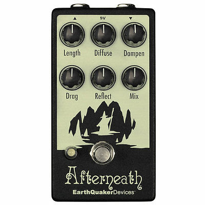 EarthQuaker Devices Afterneath Otherworldly Reverberation Machine V2 Reverb