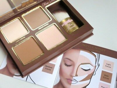 Too Faced Cocoa Contour Palette Chiseled to Perfection! BNIB Fast/Free Ship!