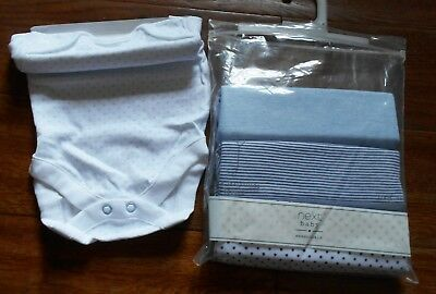 Next 4 Pack New Born Vests - Age 1 Month