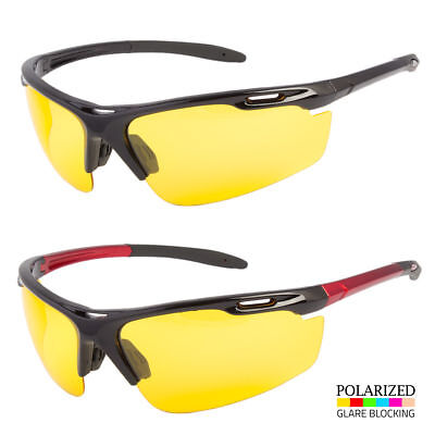 NEW HD Night Vision Polarized Glasses Driving Aviator Sunglasses UV400 Eyewear