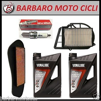 Replacement Kit Yamaha X-City X-Max 250 2Lt. Oil Yamalube+ 2 Filters Air+
