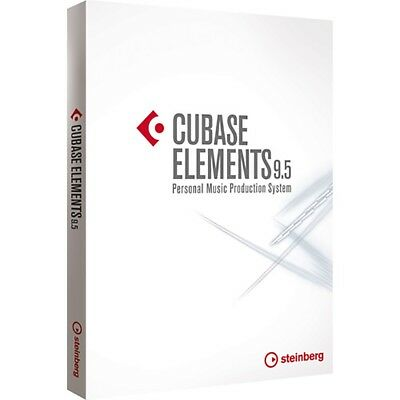 Steinberg Cubase ELEMENTS 9.5 Software Boxed Free Upgrade to version 10