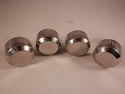 Harley Davidson Head Bolt Covers in Stainless Steel
