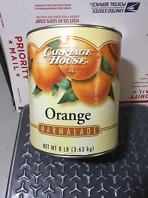 Carriage House Orange Marmalade 8 Pound Can