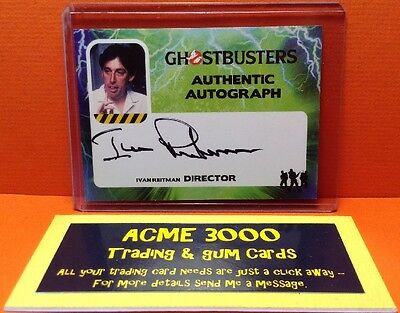 Cryptozoic - Ghostbusters (2016) - Ivan Reitman Director Autograph Card IR
