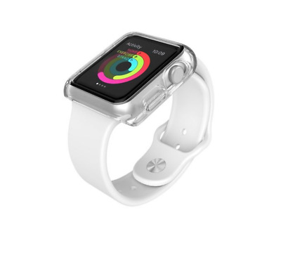 Speck CandyShell FIT 42mm Apple Watch case (clear)