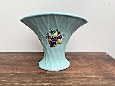 Bourne Denby Vase Light Bluegreen Vase Denby Late 1940s