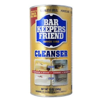 Bar Keepers Friend All Purpose Cleaner Polish 12 Oz Pack Of 2