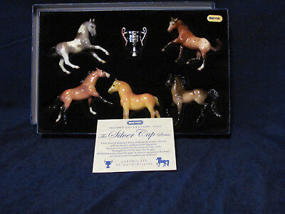 Breyer 2002 The Silver Cup Series Stablemates Gift Set Second Collection New NIB
