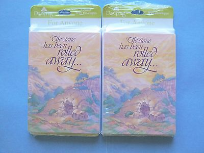 (16) Dayspring Note Cards Easter Christian 2 Pkgs of 8, Total count 16 #64747