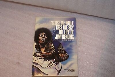 1981 'Scuse Me While I Kiss The Sky The Life Of Jimi Hendrix Biography Book