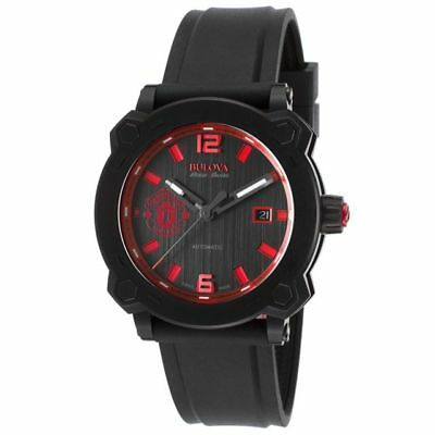 Bulova Accu Swiss MENS WATCH 65B165 Manchester United Special Edition