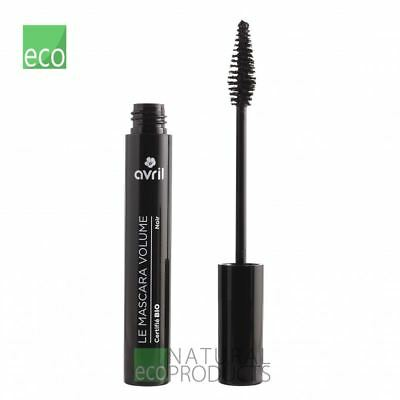 Avril Organic Mascara Volume - Black 9ml with Acai Berry & Beeswax