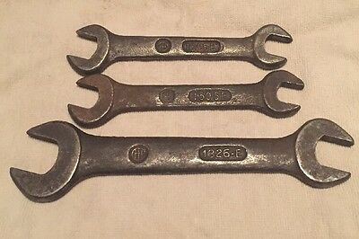 Lot Of 3 Vintage  International Harvester  IH  Wrenches 1595E, 1326E Antique
