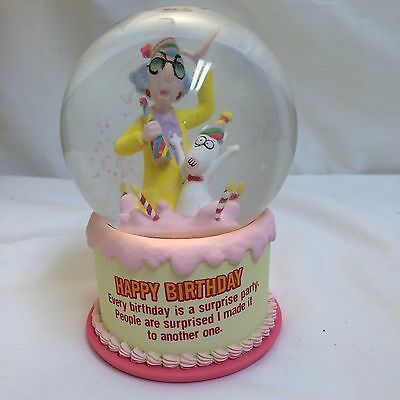 Hallmark Maxine Water Globe Birthday Gift For Women Decorative Collectible Funny