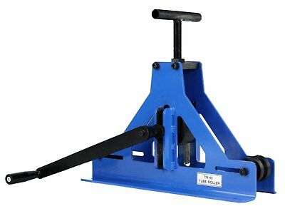 Erie Tools® Square Tube Pipe Roller Rolling Bender and Fabricator