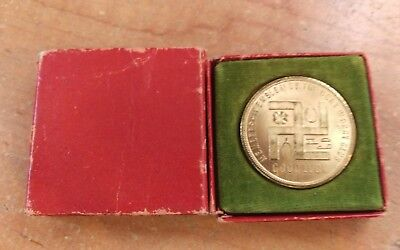 Vintage Swastika Good Luck Token- Original Box Allen Tire & Rubber Allentown Pa!