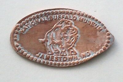 NATIONAL BUFFALO MUSEUM - JAMESTOWN, ND elongated penny