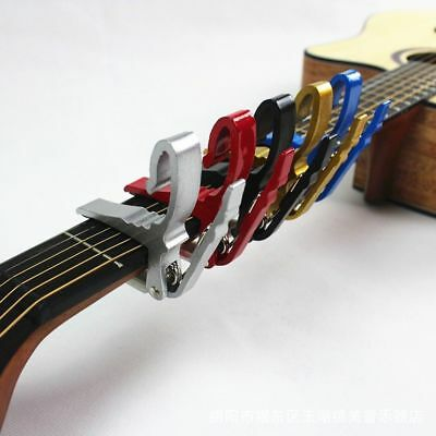 Folk Guitar Electric Tune Capo Clamp Electric  Acoustic