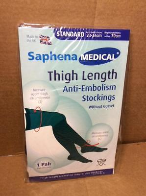 Saphena Medical Anti Embolism Thigh Length Stockings