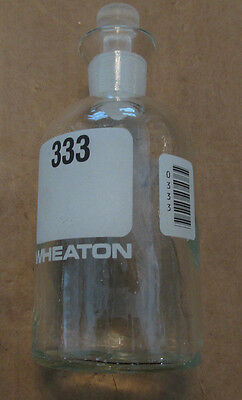 Wheaton 300ml Glass Laboratory Bottles With Toppers