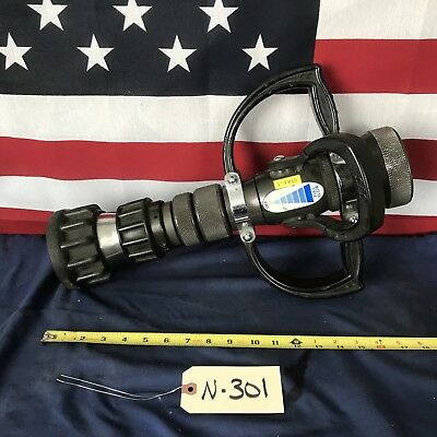 "TFT -Task Force Tip Lightweight 2 1/2""NH Bail Handle Play Pipe Fire Hose Nozzle"