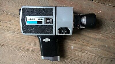 Hanimex Tl Loadmatic Mp303 Super 8 Video Camera And Case