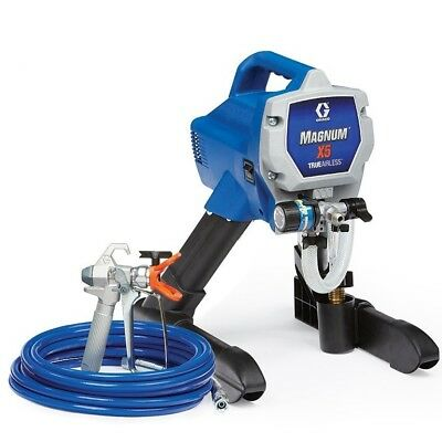 Adjustable Airless Paint Sprayer Graco Magnum 262800 X5 Stand Total Control NEW
