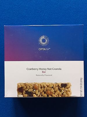 Medifast Optavia Cranberry Honey Nut Granola Bar-7 Bars-Fresh! FREE SHIPPING!