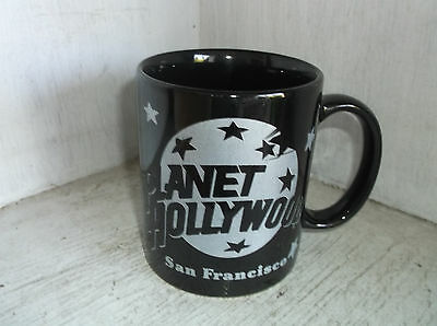 Planet Hollywood SAN FRANCISCO Black Coffee Mug Cup