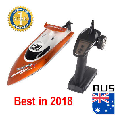FT009 2.4G 4CH Water Cooling High Speed Remote Control Racing RC Boat Orange AU