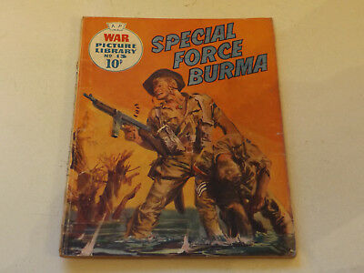 WAR PICTURE LIBRARY NO 13!,dated 1959!,GOOD for age,great 59!YEAR OLD issue,RARE