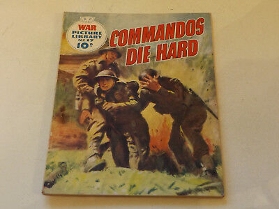 WAR PICTURE LIBRARY NO 17!,dated 1959!,GOOD for age,great 59!YEAR OLD issue,RARE