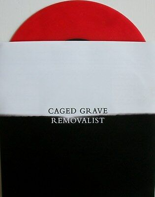 """CAGED GRAVE / REMOVALIST spl 7"""" infest,spazz,crossed out,dystopia,yacöpsae,nasum"""