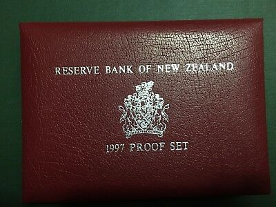 New Zealand 1997 Proof coins Set (3242790M3)