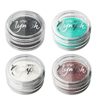 Mermaid Effect Glitter Shimmer Dust Powder Nail Art Decoration 3g Silcare