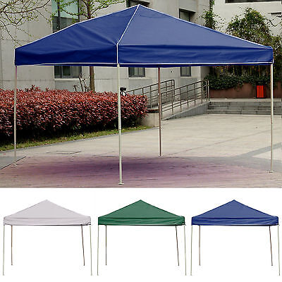 3x3x2M Folding Gazebo Heavy Duty Garden Party Pop Up Tent Marquee 3 colors UK