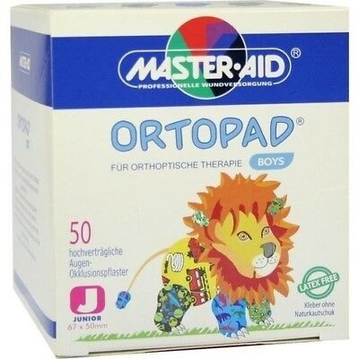 ORTOPAD for boys junior Augenokklusionspflaster 50 St 02877109