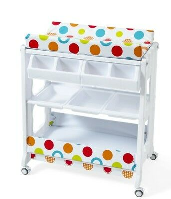 Big Softies Change Table with Bath Tub All in one Baby Large Accessory pockets