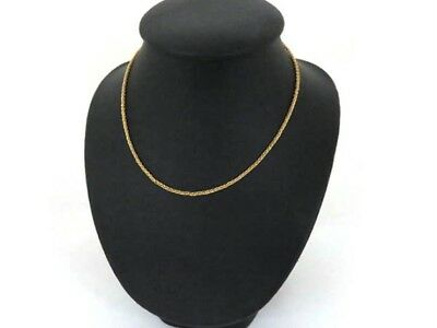 Cartier Chain Necklace 18K YG 750 Yellow Gold Accessories Accessory