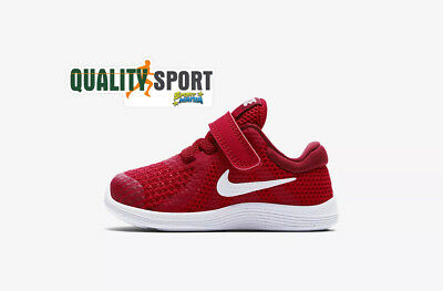 Nike Revolution 4 Rosso Scarpe Bambino Shoes Sportive Sneakers 943304 601 2018