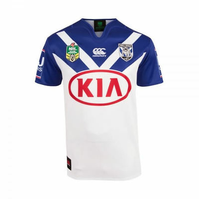 New & Authentic Canterbury NRL Bulldogs Replica Rugby League Home Jersey 2017