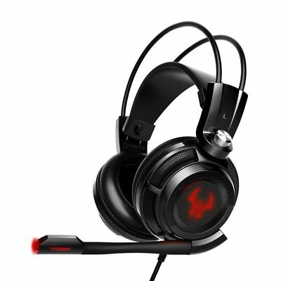 EasyAcc G1 Virtual 7.1 Surround-Sound Gaming Headset mit Vibrationsfunktion,USB
