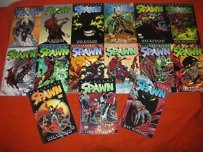 Spawn 1 -82 Volume 1 2 3 4 6 7 8 9 10 11 12 13 14 15 Graphic Novel Vol 1 -15 Tpb
