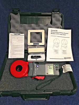 AEMC Clamp-On Ground Resistance Tester with Resistance Test Loop