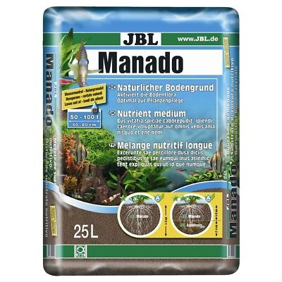Substrat Sol Naturel Manado pour Aquarium - JBL - 25L
