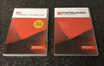 Seaward PAT Training DVD, Business Builder CD, Evaluations and Elements CDs