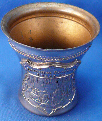 Vintage Beautiful Caverns Luray,virginia,va.metal Shot Glass